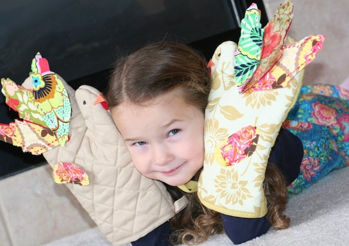 Thanksgiving Crafts- Turkey Mitts