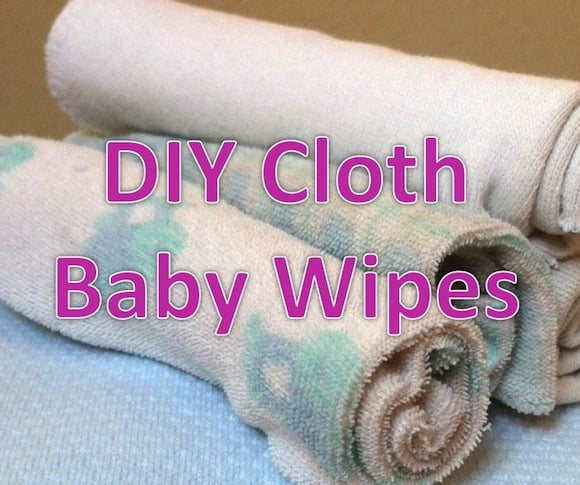 DIY Cloth Wipes