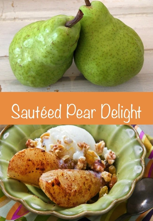 Sauteed Pear Delight