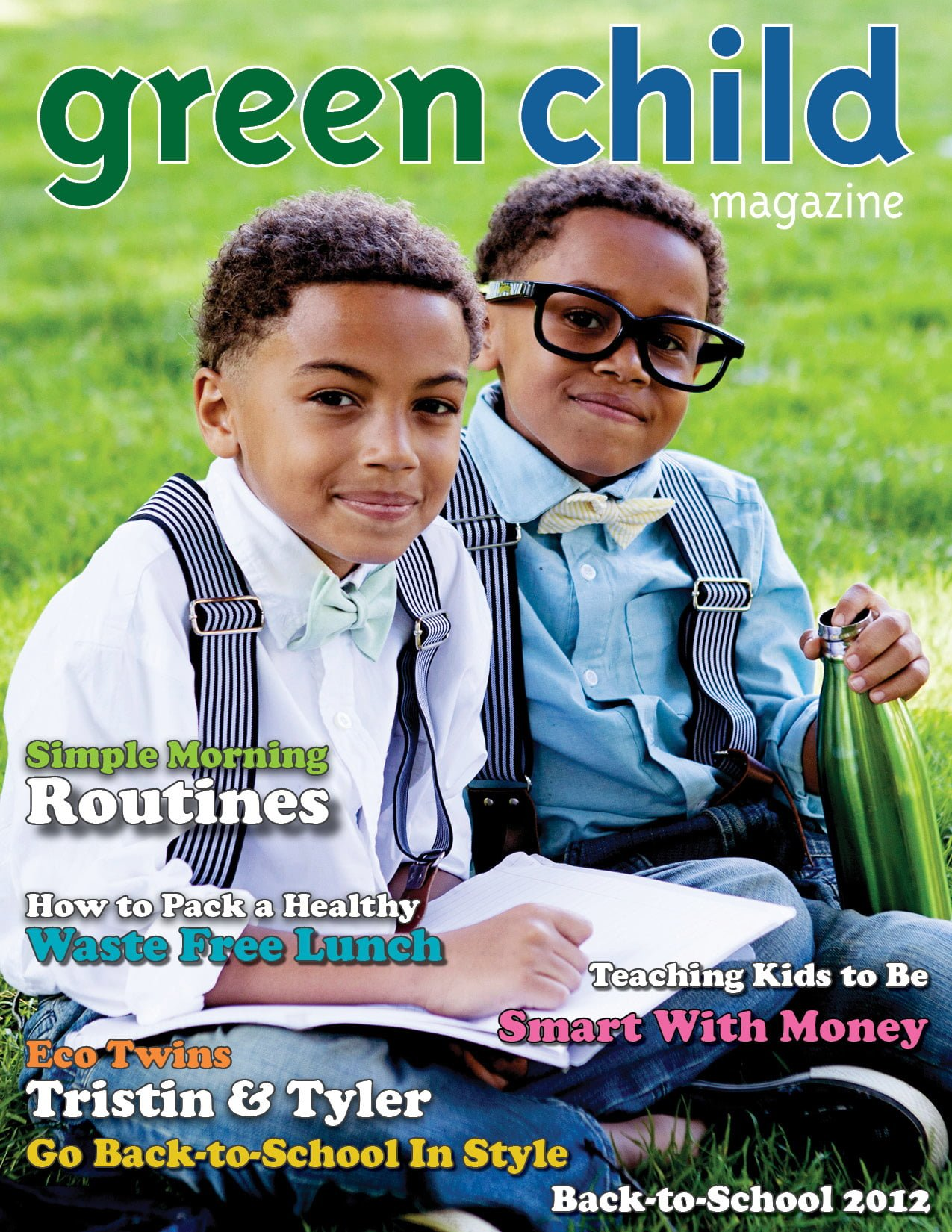 The Back To School 2012 Issue Of Green Child Magazine