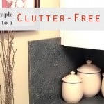 Simple Tips for Clutter-Free Living