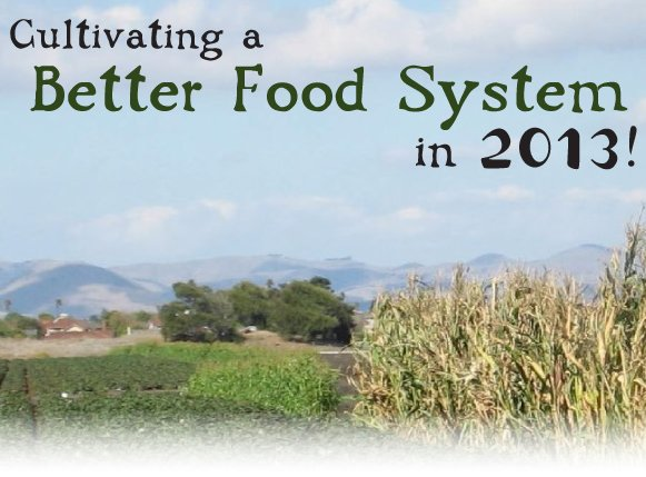Cultivating a Better Food System