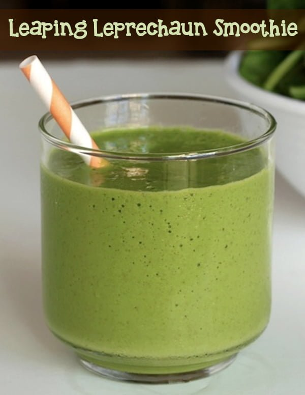 Leaping Leprechaun Green Smoothie