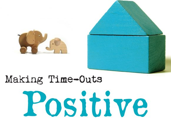 Gentle discipline:  How to make time-out a positive experience