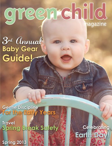 Green Child Magazine Spring cover 2013