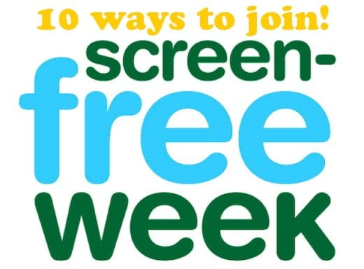 10 Ways to Join Screen Free Week 2013
