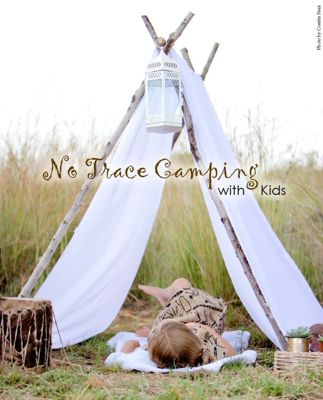 No Trace Camping With Kids