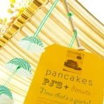 DIY Pancakes & Pajamas Party in Eco-friendly style