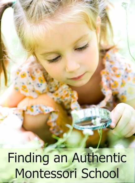 How to find an authentic Montessori school
