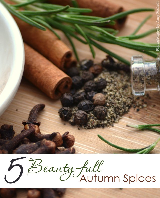5 Spices for Fall Beauty