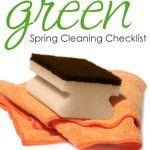 Green Spring Cleaning Checklist