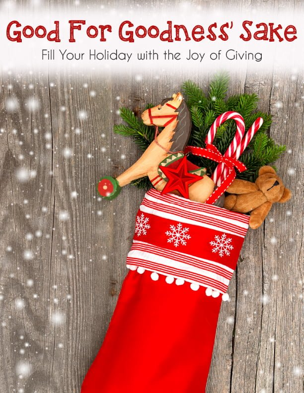 Fill your holiday with the joy of giving
