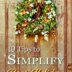 10 Tips to Simplify Your Holiday