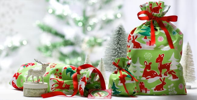 How to wrap gifts sustainably for Paper christmas gifts