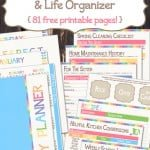 The Ultimate Customizable Personal Planner {free printable}