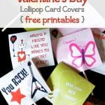 Valentine's Day Lollipop Covers {free printables}
