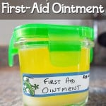 DIY First Aid Ointment