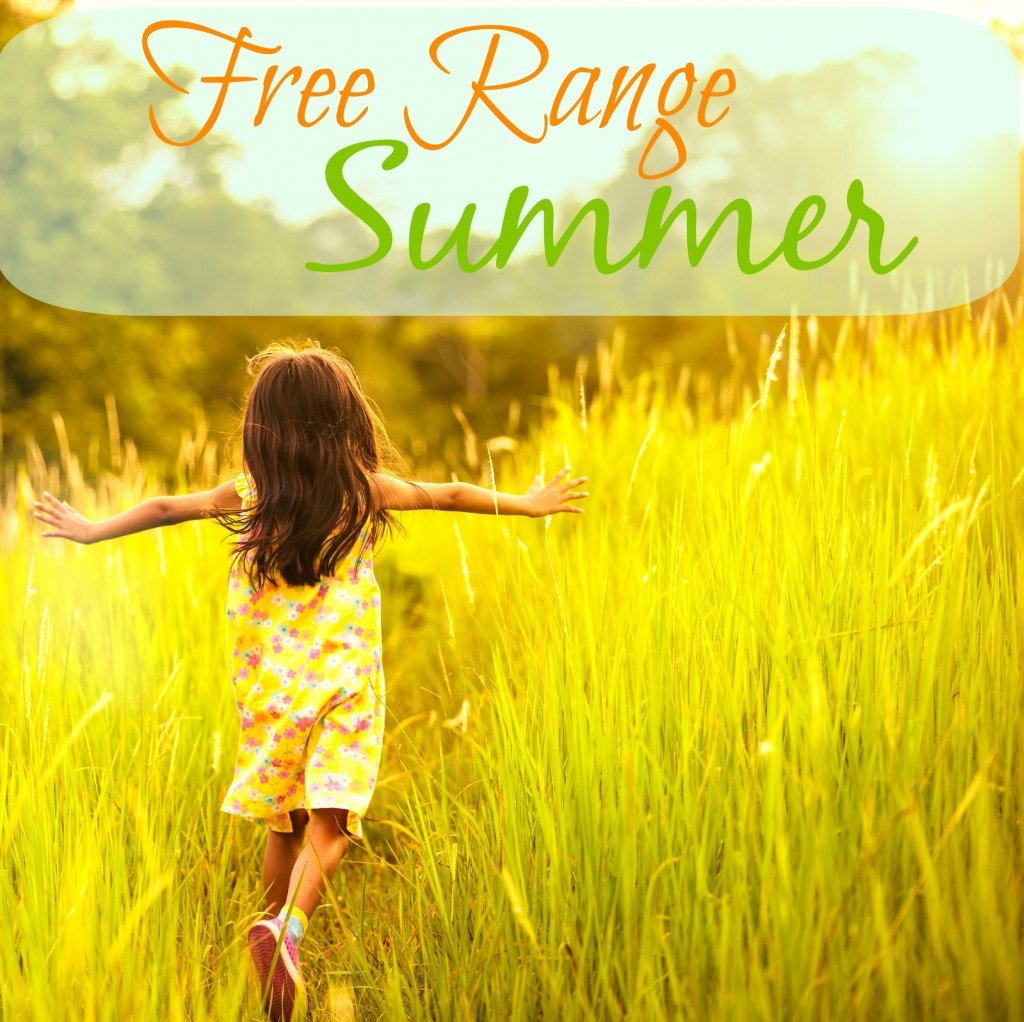 Free Range Summers - The importance of down time in your child's world