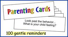 Parenting Cards from NaturalChild.org
