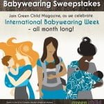 International Babywearing Week Sweepstakes