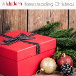 A Modern Homesteading Christmas