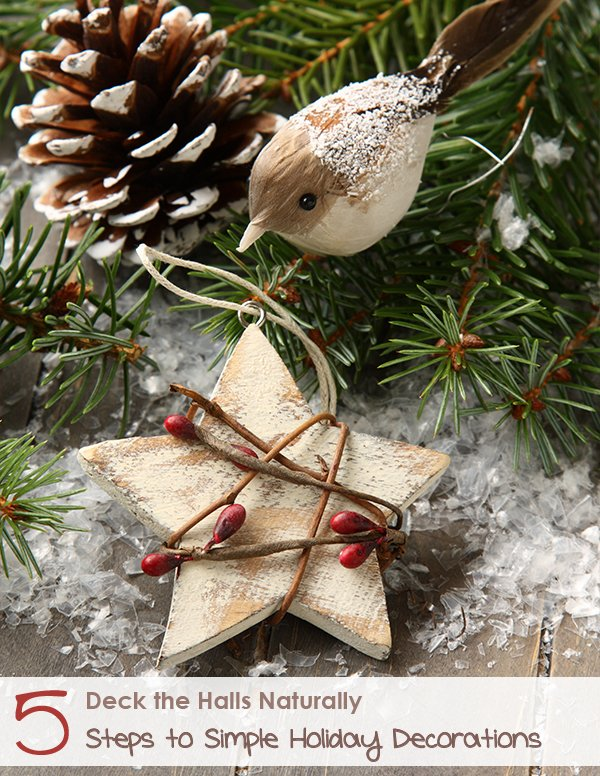 Naturally Simple Holiday Decor