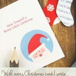 With Every Christmas Card I Write: Green Your Holiday Greetings