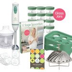 Sage Spoonfuls Glass Baby Food System & Steamer Giveaway