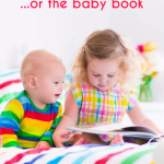 Don't Sweat the Small Stuff… or the Baby Book