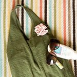Easy Peasy No-Sew DIY Beach Bag