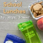 Healthy School Lunch Tips, Recipes, & More!