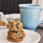 Chickpea Chocolate Chip Cookies with Einkorn Flour