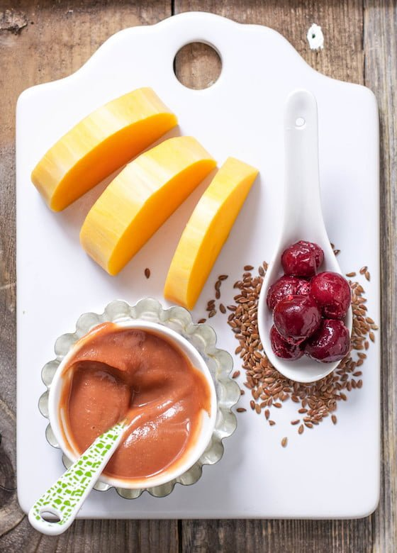For inspiration on simple, BLW-inspired first foods for baby, click here to see our Nourishing Your Family issue