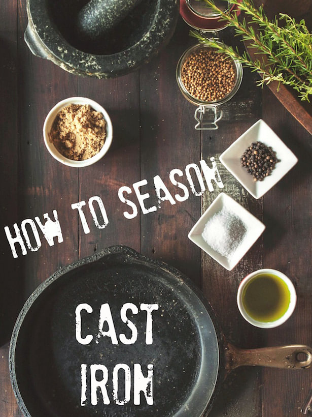 How to Season Your Cast Iron Pan