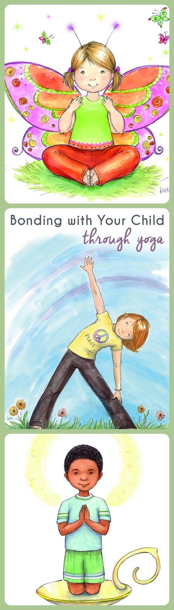 Bonding with your child through yoga