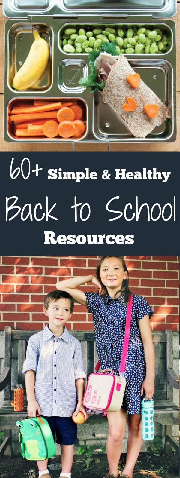 While you'll find plenty of green Back to School advice in this roundup of articles and links, I hope you'll also spend some time enjoying the articles on family activities and ways to put simple routines in place for your mornings, packing lunches, and planning dinners.