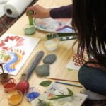 Nature-inspired Art Projects + Making Your Own Paints & Brushes