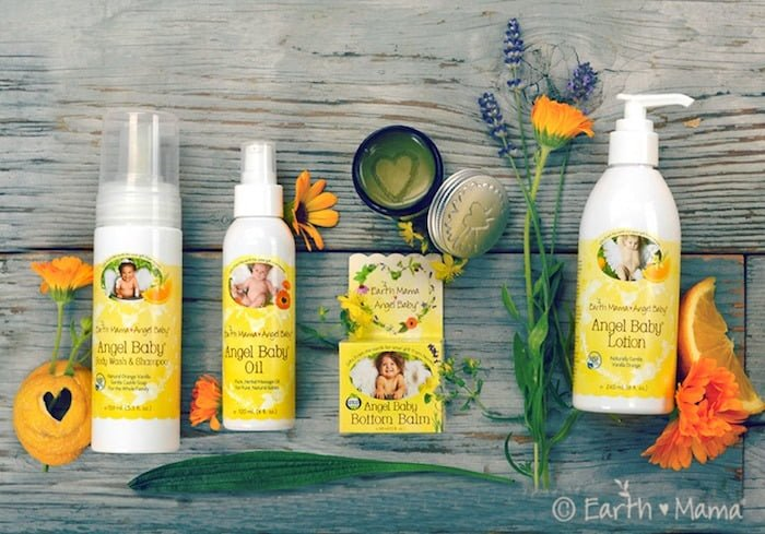 Earth Mama Angel Baby Safe Personal Care Products