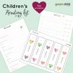Children's Reading Kit {Free Printable}