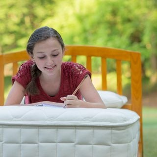 An organic upgrade to your big kid's bed
