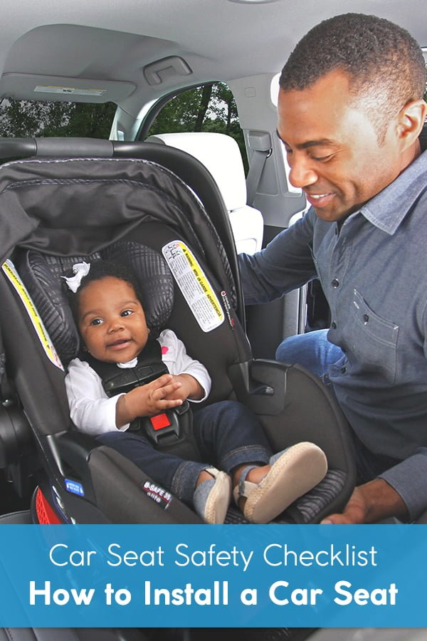 car seat safety checklist how to install a car seat. Black Bedroom Furniture Sets. Home Design Ideas