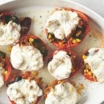 Stuffed Tomatoes with Mozzarella