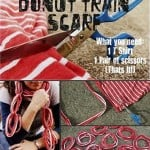 Upcycled T-shirt Scarf Tutorial