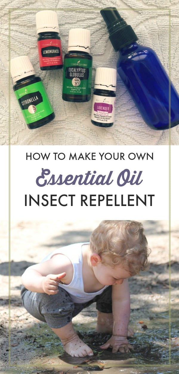 Why go to the trouble of putting together a non-toxic first aid kit if you're going to keep spraying your family down with DEET to keep mosquitoes at bay? Here's a DIY natural insect repellent that's safe for babies, kids, and pregnant women.