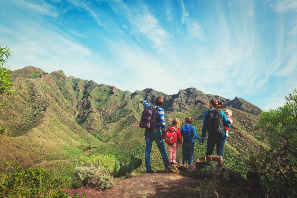 Top tips for green travel with kids