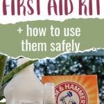 natural first aid kit items