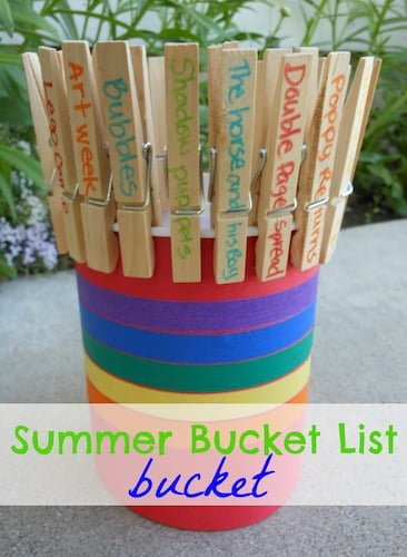 Summer bucket list project