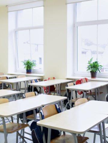 eco-friendly school classroom