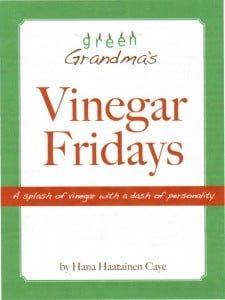 Vinegar Fridays Non-Toxic Guide to Cleaning