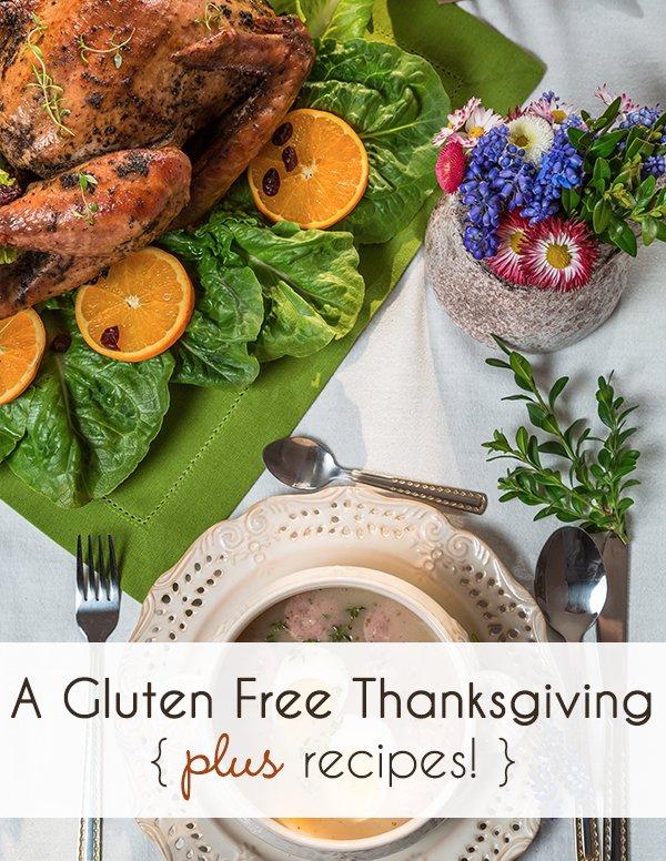Gluten Free Thanksgiving Recipes